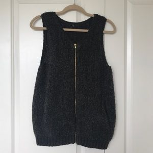GAP Gray Sweater Vest